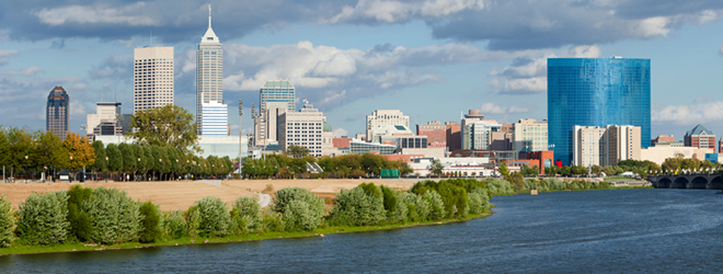 City of Indianapolis Skyline